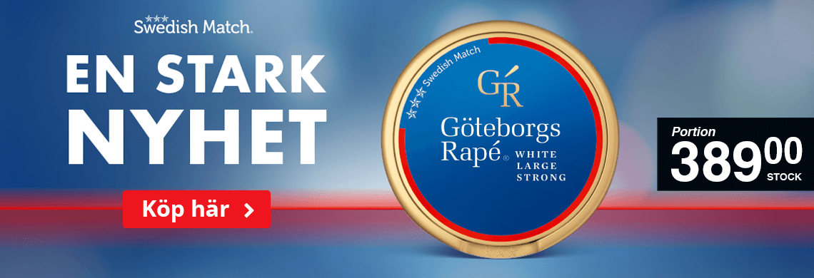 Köp nya Göteborgs Rapé Strong här!