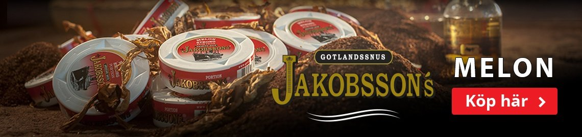 Köp Jakobsson's snus här!