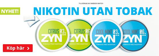Köp nya ZYN här!
