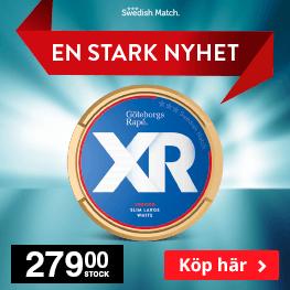 Köp Göteborgs Rapé XR Strong här!