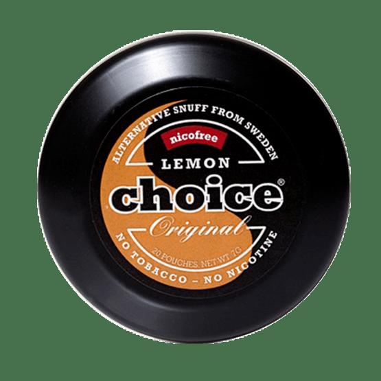 Lemon Choice Nikotinfritt Snus