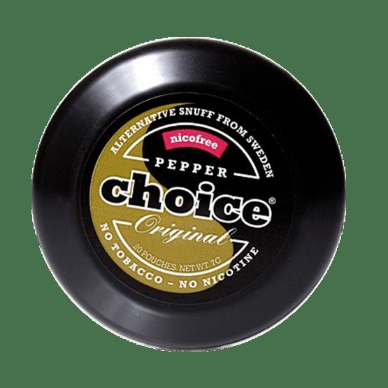 Pepper Choice Nikotinfritt Snus