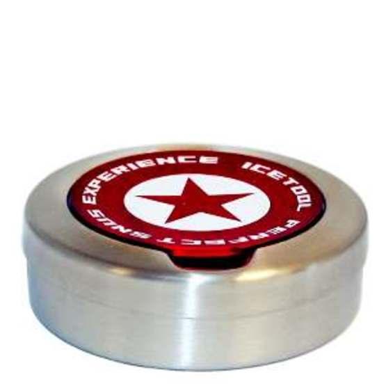Icetool Stainless Steel Snusdosa Röd
