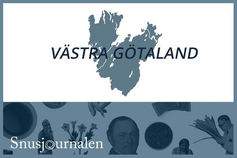 Så här snusar man i Västra Götalands län
