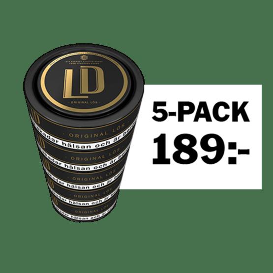 LD Lös 5-pack