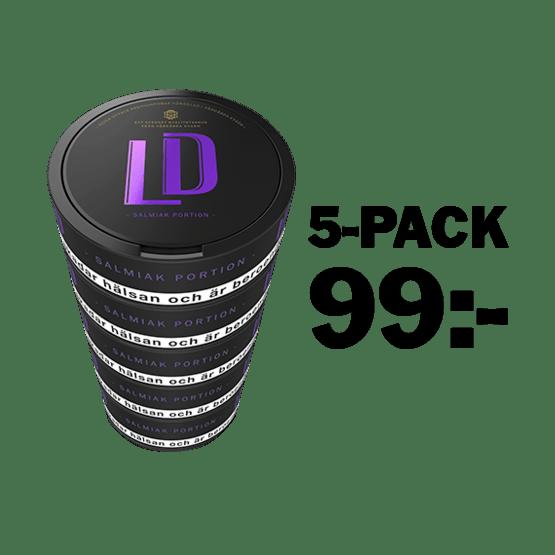 LD Salmiak Portion 5-Pack
