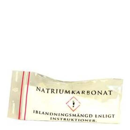 Natriumkarbonat - för starkare snus