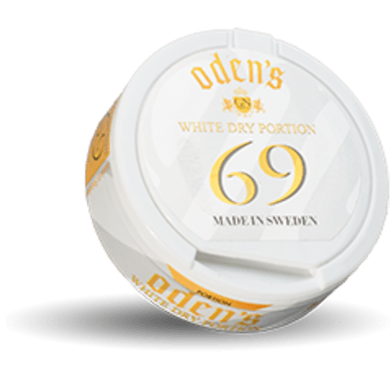 Odens 69 White Dry Portionssnus
