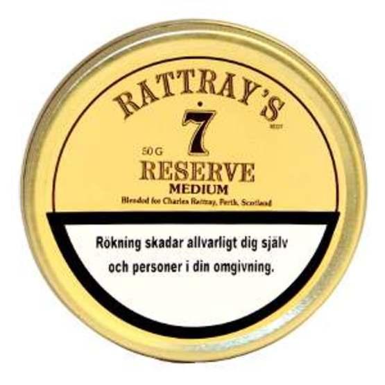 Rattray's 7 Reserve 50g Piptobak