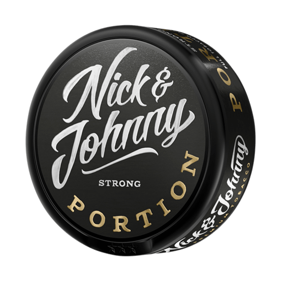 Nick and Johnny Strong Portionssnus