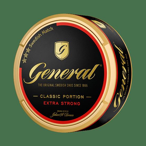 General Extra Stark Portionssnus