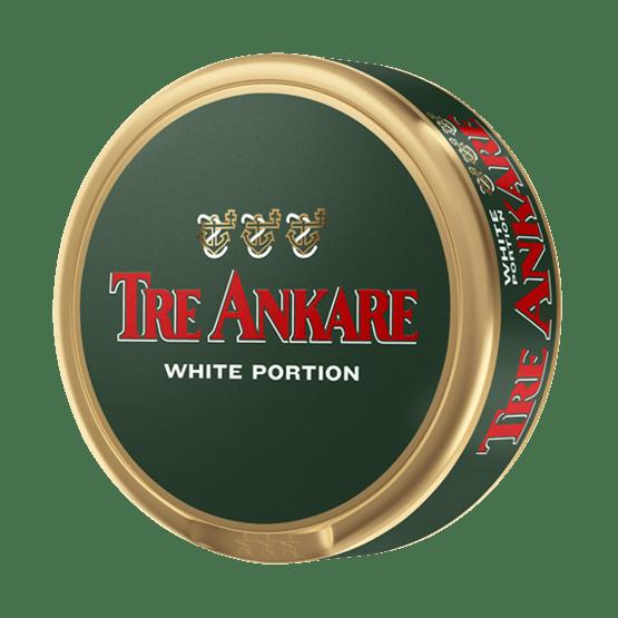 Tre Ankare White Portionssnus