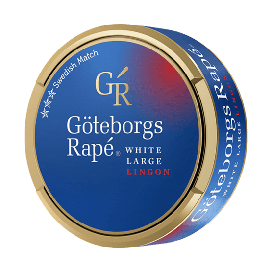 Göteborgs Rapé Lingon White Portionssnus