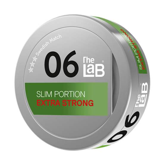 The Lab Series 06 Extra Strong Portionssnus