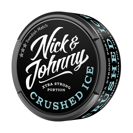 Nick and Johnny Crushed Ice Xtra Strong Portionssnus