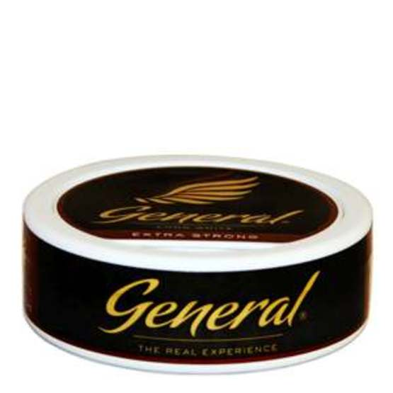 General Long White Extra Strong Portionssnus