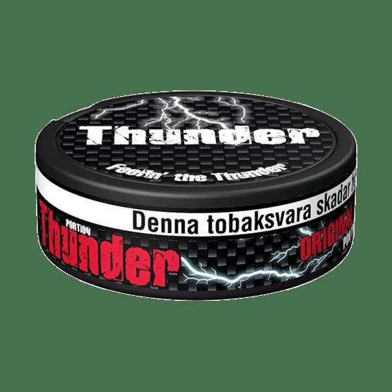 Thunder Extra Stark Original Portionssnus