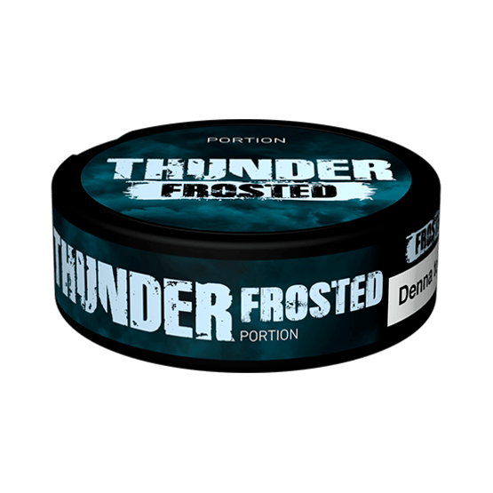 Thunder Frosted Portionssnus