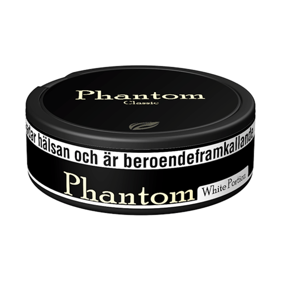Phantom Classic White Portionssnus