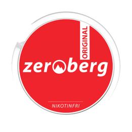 Zeroberg Original Nikotinfritt snus