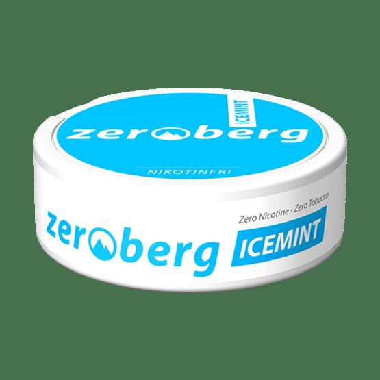 Zeroberg Icemint Nikotinfritt Snus